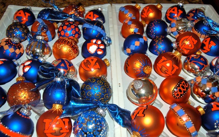 auburn university christmas ornaments