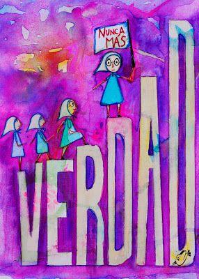 Analía Heredia Ilustraciones: Memoria, Verdad y Justicia