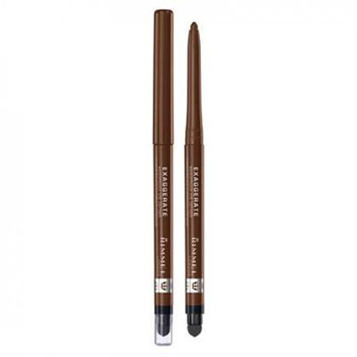 Rimmel Exaggerate Waterproof Eye Definer | 212 Rich Brown http://www.bol.com/nl/p/rimmel-exaggerate-full-colour-eye-definer-212-rich-brown-eyeliner/9200000031376447/