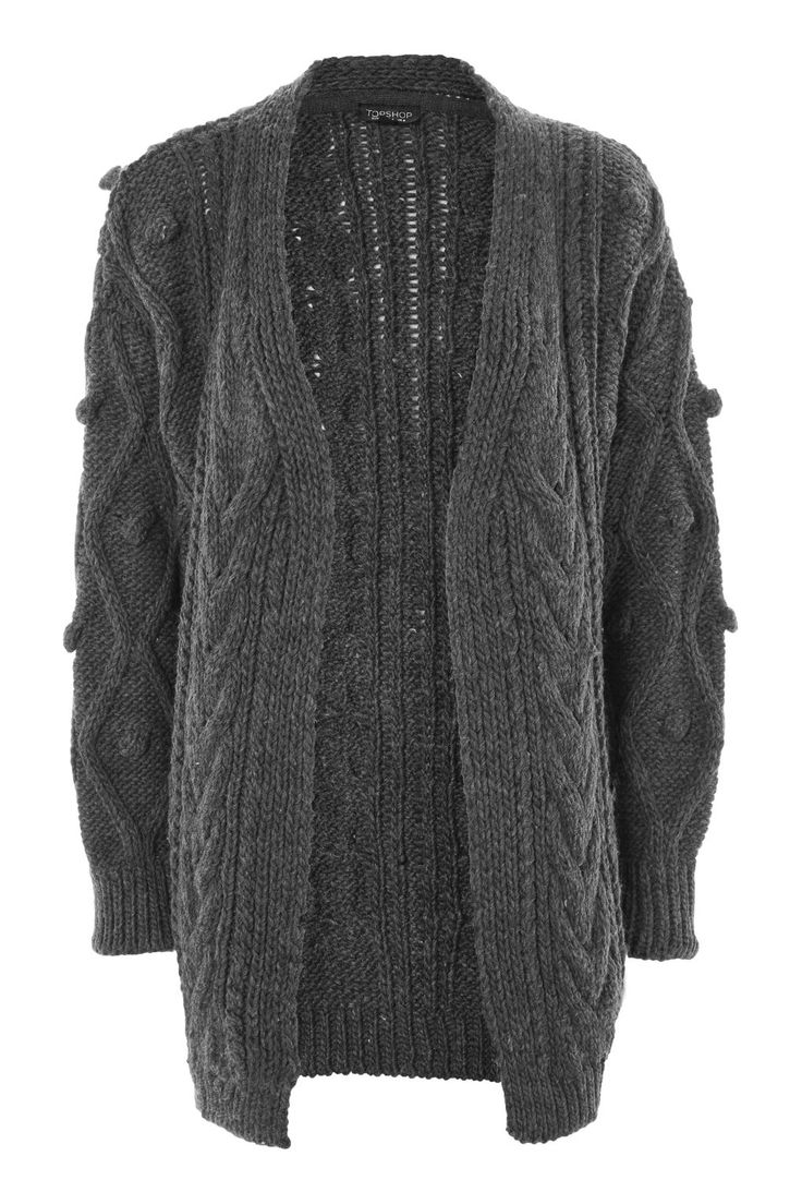 Cable Bobble Cardigan