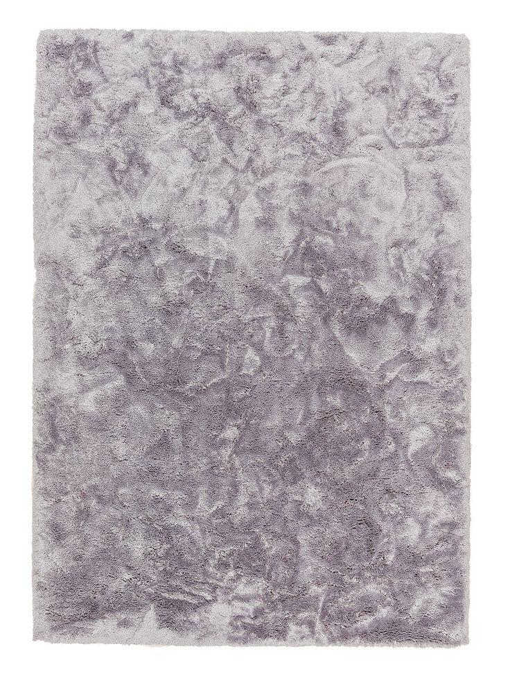 Der Schöner Wohnen Teppich Harmony In Silber 6710 160 004 Schafft Dank  Seiner Schimmernden Farboptik Und