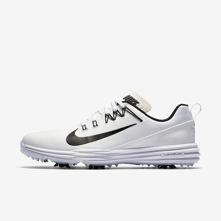 Nike Lunar Command 2 Golf Shoe - White