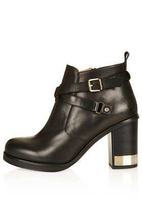 Metal Trim Boots