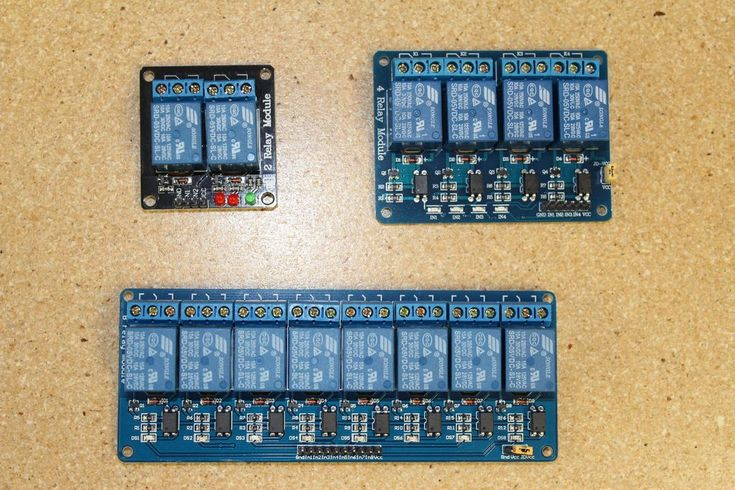 Picture of Using Relay Boards to Control Linear Actuators