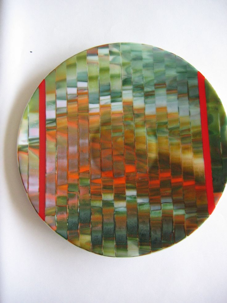 Fused glass Marise Mill