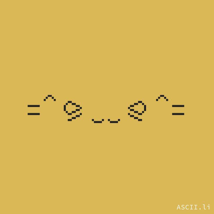 =^⪩‿‿⪨^= https://ascii.li #Unicode #TextEmoticon #Kamoji #Smiley #KawaiiFace #TextFace #Animals