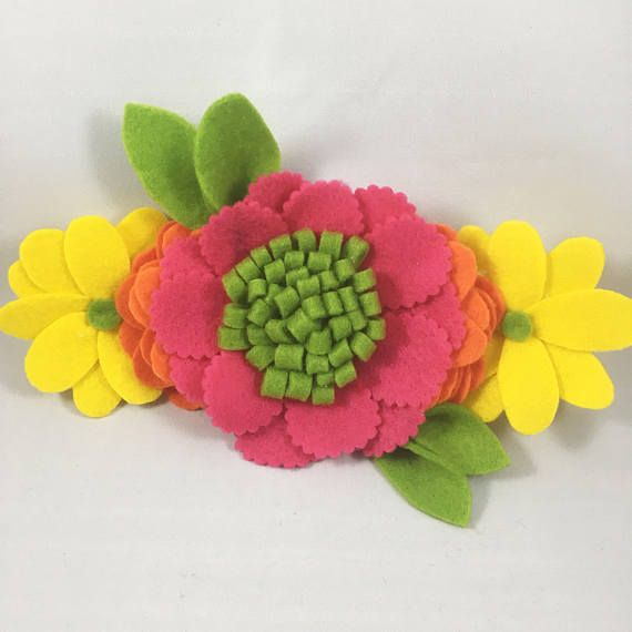colorful flower crown flower crown flower crown headband