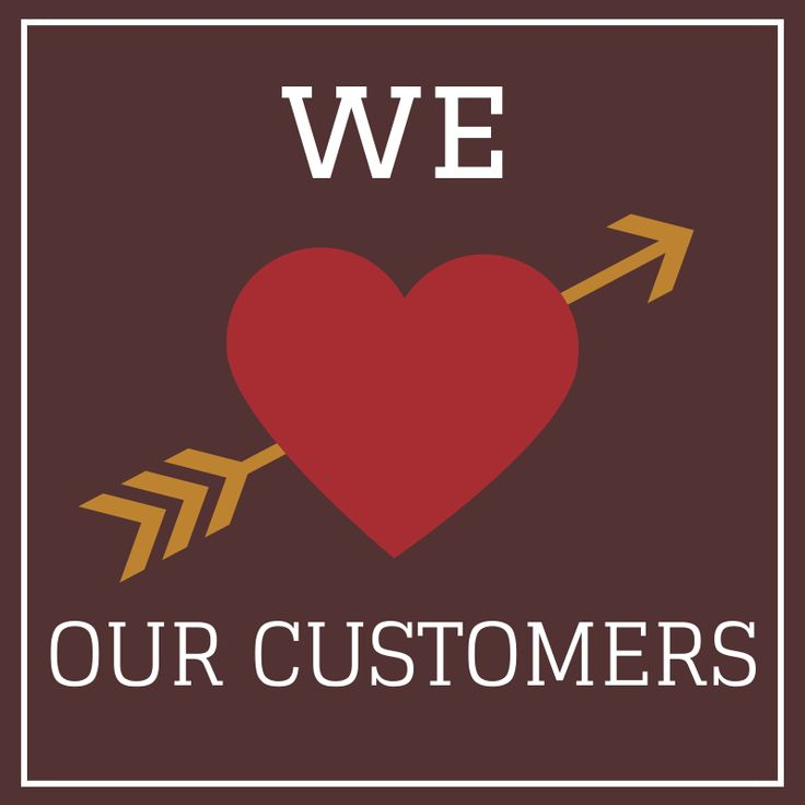 we love our #customers