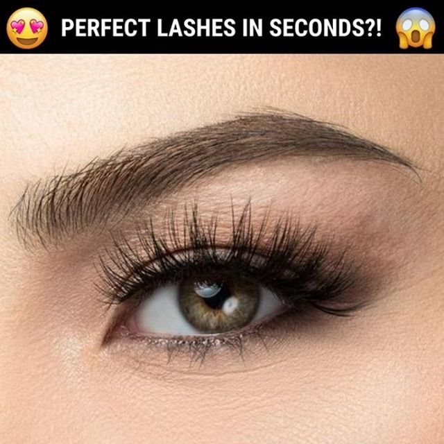 Natural magnetic eyelashes   – Adalia Carlen