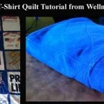fleece t-shirt quilt tutorial ~would do this differently but like the idea of t-shirt and fleece