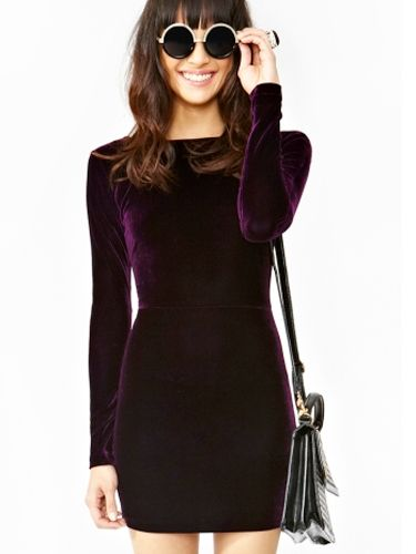 TFNC Sequin Dress with Long Sleeves - Dresses for Holiday Parties - Cosmopolitan