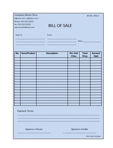 Best 25+ Bill of sale template ideas on Pinterest Bill of sale - sample car bill of sale