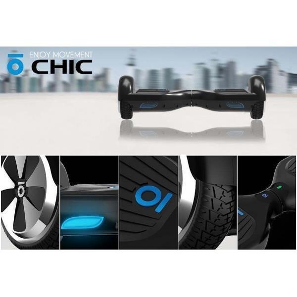 Le CHIC Smart ORIGINAL S2 est un nouveau type de gyropode pour le transport personnel. Il est sans guidon et auto-balancé par un système gyroscopique.