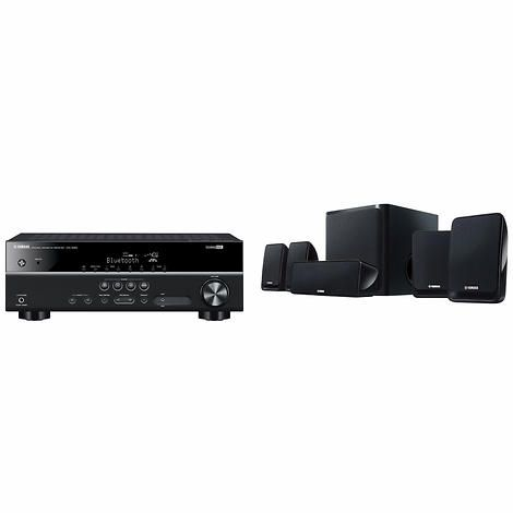 Yamaha 5.1 Channel Home Theatre Package