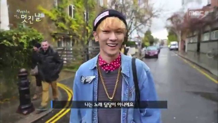 SHINee's Key Speaking English - One Fine Day......Too much cuteness for me! Key is so cute so handsome, I think he's such a sweet heart. He seems like a fun person to hang out with:) I'm satisfied with this footage of him, & now that I'm exhausted I have to go rest now:)
