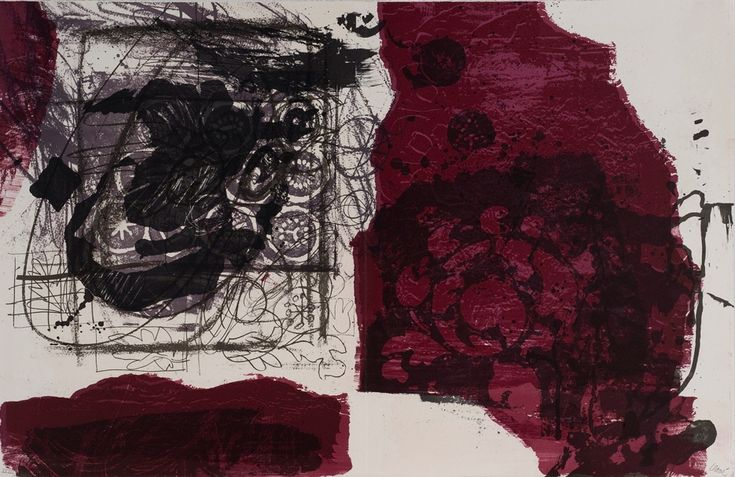 Antoni Clave (Catalan, 1913 - 2005) Litografia, any 1970. #art #litografia #Dolorsjunyent