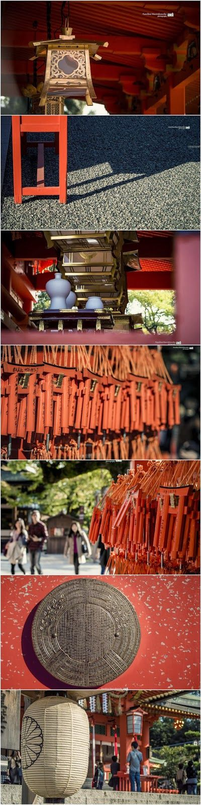 Shrine of Inari - The Details, Kyoto, Japan