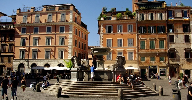 John Cabot University - Rome, Italy... man i miss this place.