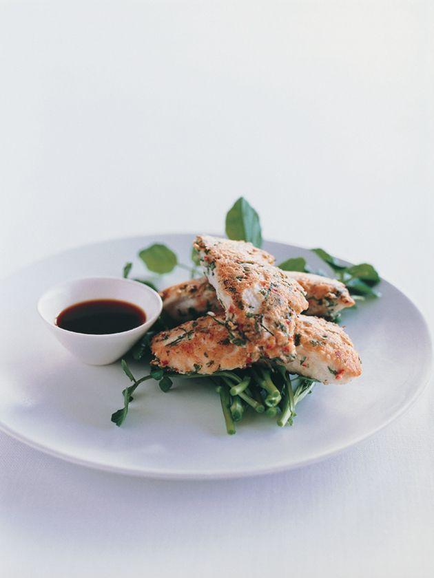 crispy spiced thai chicken