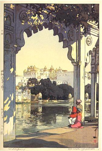 Udaipur by Hiroshi Yoshida