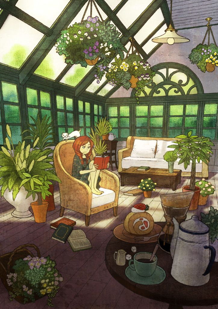 Sunroom by Sayaka Ouhito beautiful room just