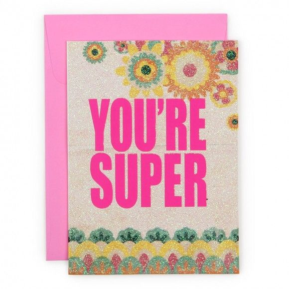 Youre super card