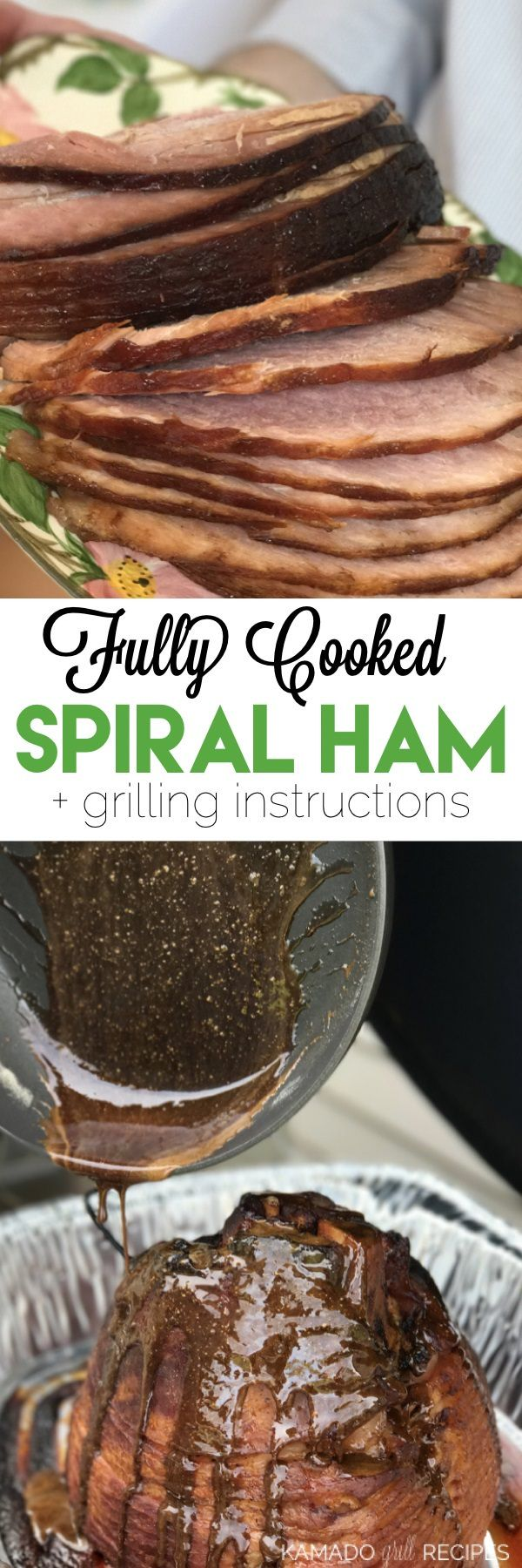 Grilled Ham for Beginners - Kamado Grill Recipes