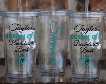 Nashville Tennessee Bachelorette Party Tumbler 16 by VinylGifts