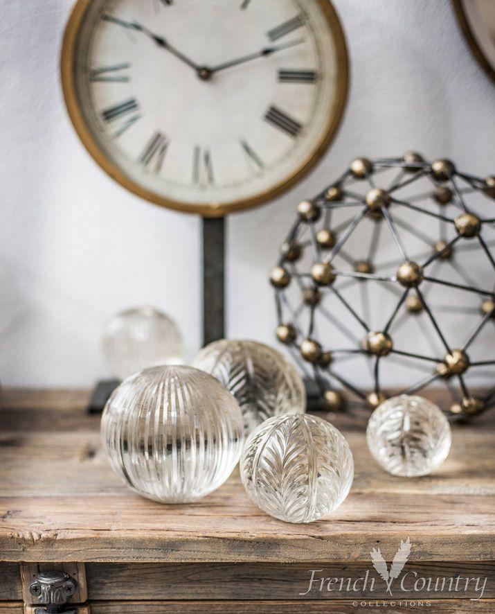Cut Glass Balls