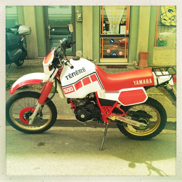 #Yamaha #XT600 #Tenere #1986