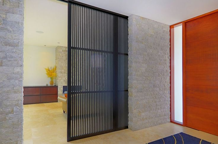 Sliding Room Divider Can Define The Space