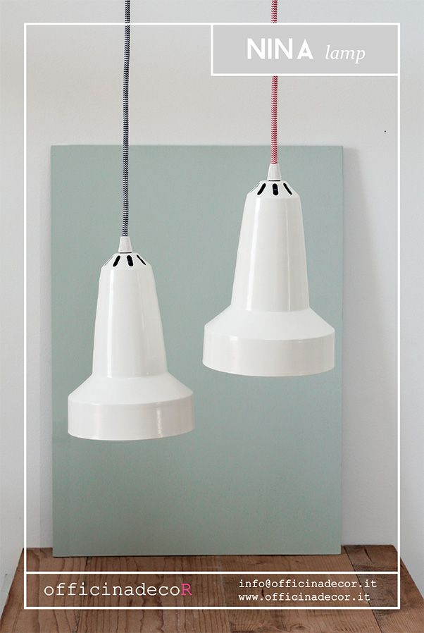 // NINA lamp // by officinadecor  made in Italy  info@officinadecor.it