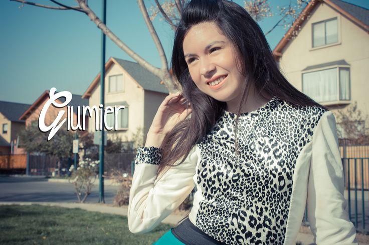 Glumier (Nature of heart) #Croptop #AnimalPrint #Tendencia #Moda #Mujer #Chile #Venta #Glumier http://facebook.com/Glumier - contactoglumier@gmail.com
