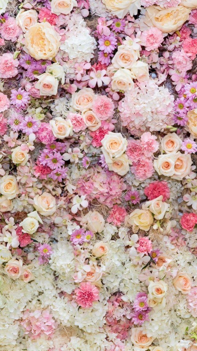 人気1位 沢山の花 Iphone Seの壁紙がダウンロードし放題 花 壁紙