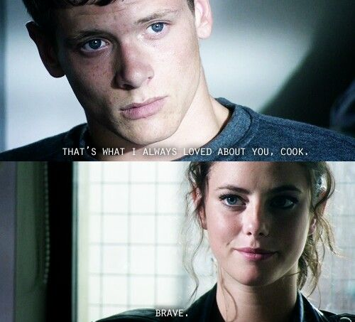 Cook and Effy. Skins Generation 2