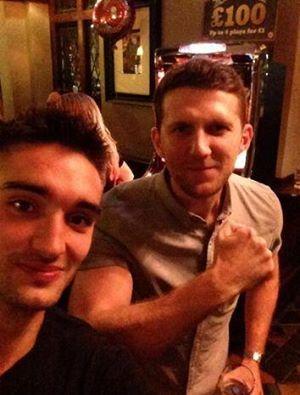 Tom & Carl Froch from Tom's Twitter