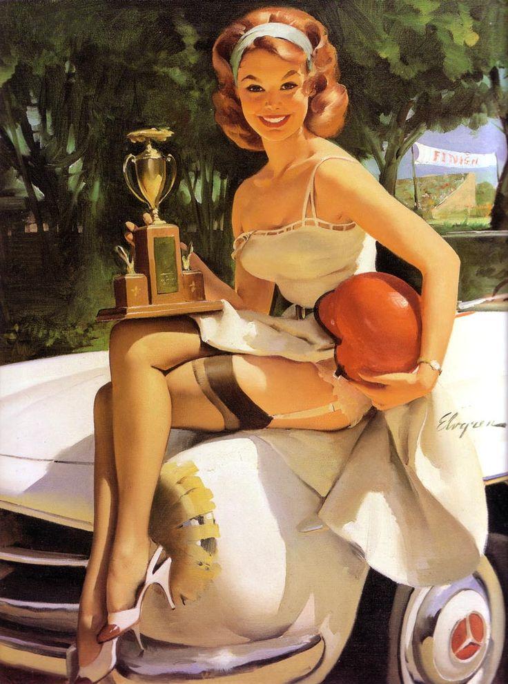 Pin-Up Art Gil Elvgren 1930-1972 (12)