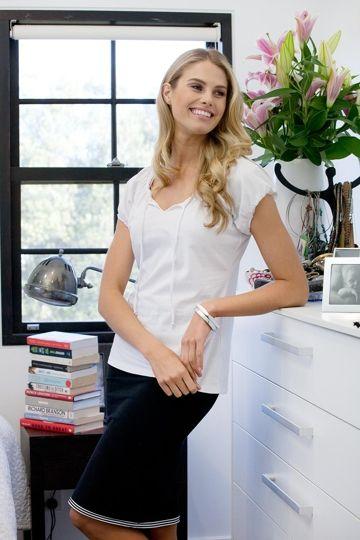 bird keepers The Reversible Tube Skirt - Womens Knee Length Skirts - Birdsnest Fashion Clothing