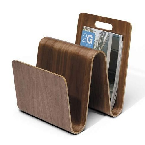 Molded Ply Magazine Stand and Offi & Company Magazine Stands   YLiving