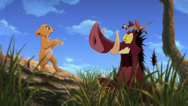 Kiara Timon And Pumbaa All Screaming At Each Other