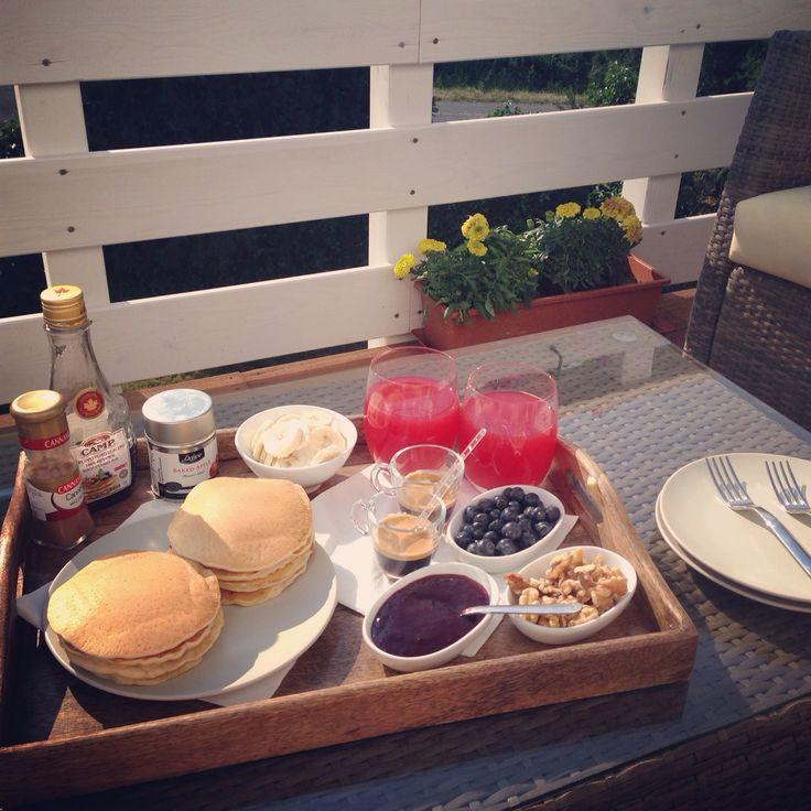 Breakfast, pancakes