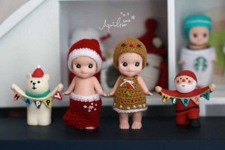 * 올해, 나만의 크리스마스 시리즈 - 양말과 쿠키에요. 2013 크리스마스 한정 소니엔젤 진저쿠키를 모델로 ...