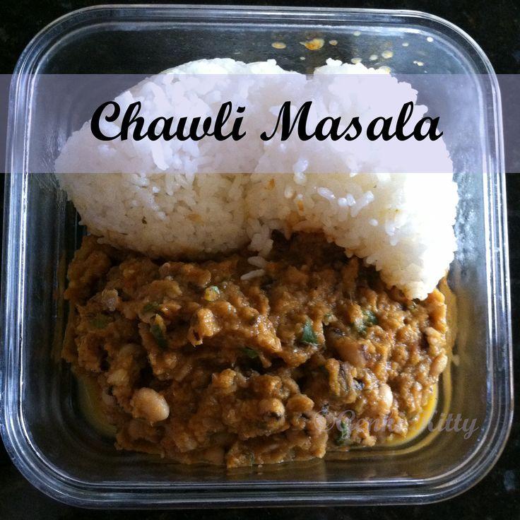 Chawli Masala Recipe Vegan