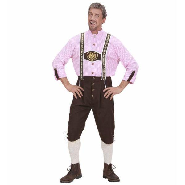 Bavarian Man - Oktoberfest kostyme for voksne