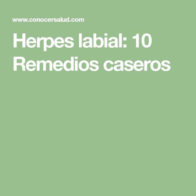 Herpes labial: 10 Remedios caseros