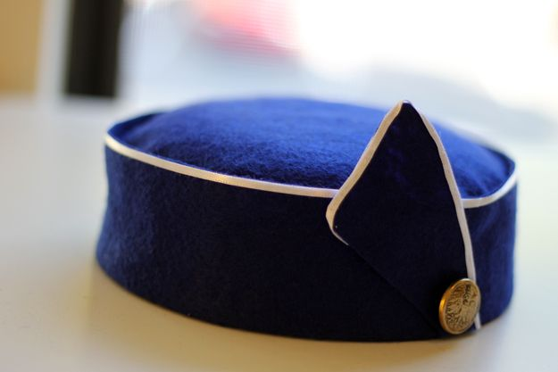 The Dapper Bun: DIY Style: How To Make A 1963 Pan Am Inspired Stewardess Hat