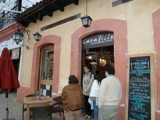 Mexican slow coffee bar. Koffie drinken dichtbij de bron in San Cristobal de las Casas.