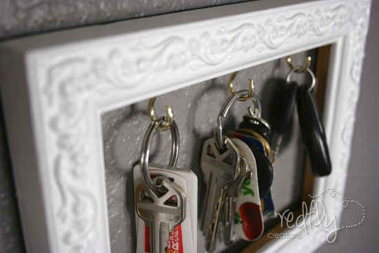 Never ever misplace your keys again... | 31 Cheap And Brilliant Dollar Store Hacks