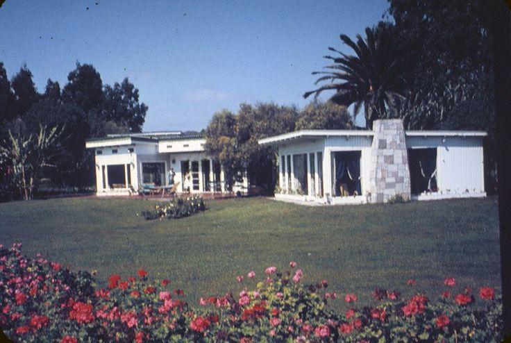 Cabañas del Balneario Peñuelas de La Serena, 1960s Fotografía Reifschneider. - EnterrenoEnterreno
