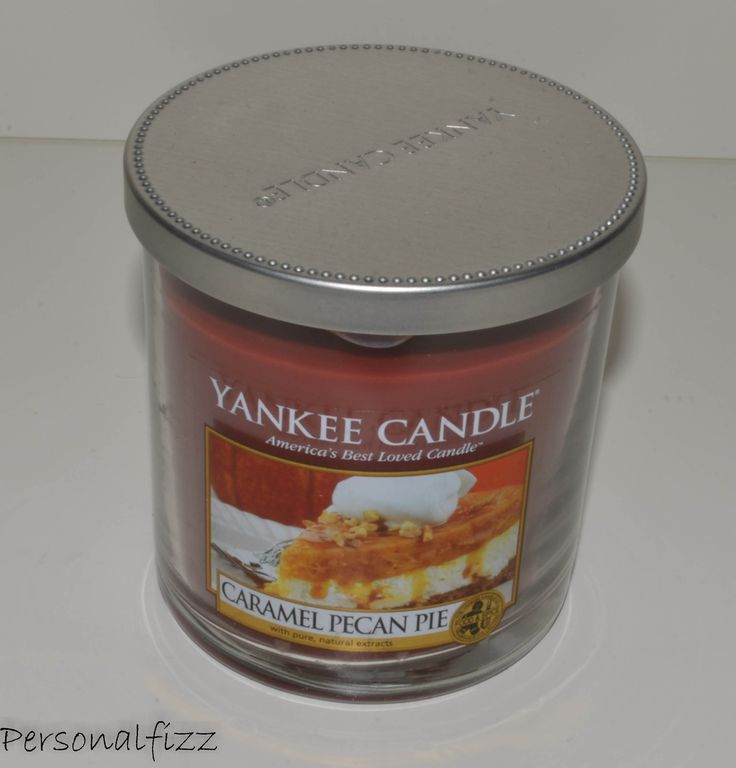 Yankee Candle Tumbler small caramel pecan pie
